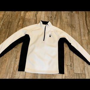 Spyder Core Sweater Blck & White we Sz Lg